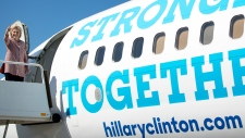 Clinton returns to campaign trail