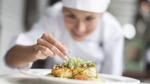 A generic photo of a chef is seen here. (andresr/Istock.com)