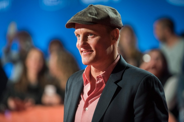 """Actor Woody Harrelson attends the premiere for """"LBJ"""" on day 8 of the Toronto International Film Festival at Roy Thomson Hall on Thursday, Sept. 15, 2016, in Toronto. (Photo by Arthur Mola/Invision/AP)"""