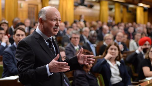 Liberal MP Denis Paradis