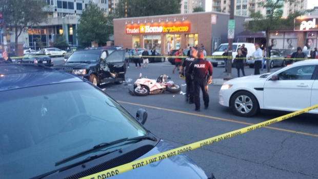 Fatal motorcycle crash in Byward Market   CTV News Ottawa