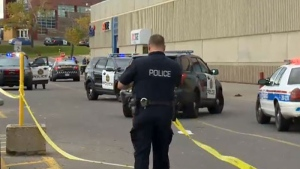 Marlborough Mall crime scene