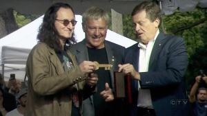 CTV National News: Hard rock homecoming for Rush