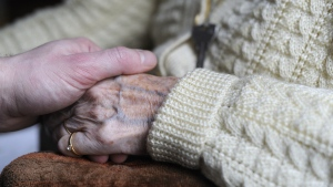 Alzheimer's is responsible for 60-70 percent of dementia cases. (SEBASTIEN BOZON/AFP PHOTO)
