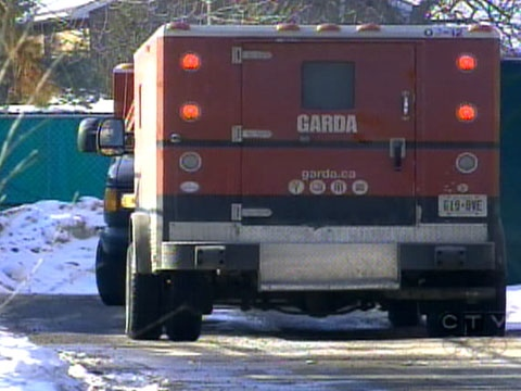 A Garda armoured truck was robbed of nearly $3 million. Police say they are stumped for leads.