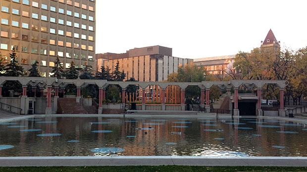 No swimming at outdoor pool in downtown Calgary
