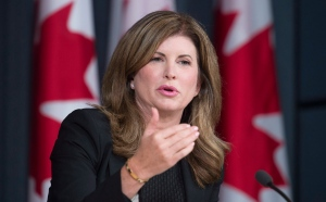 Interim Conservative Leader Rona Ambrose responds to a question during a news conference in Ottawa, Monday Sept. 19, 2016. (THE CANADIAN PRESS / Adrian Wyld)