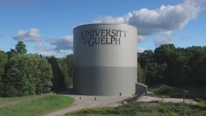 The University of Guelph's 30-metre water-cooling tank