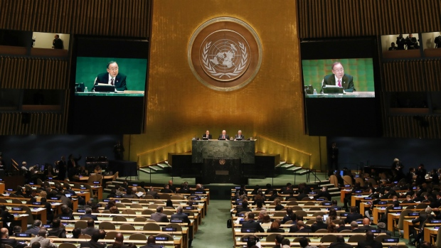 At UN, leaders' declaration highlights need for unified refugee support