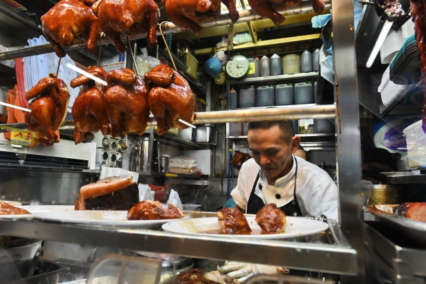 Singaporean chef Chan Hon Meng