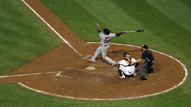 Red Sox top O's for seventh straight win