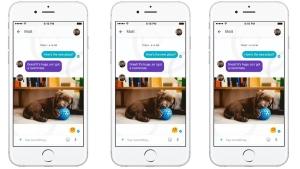 Google Allo smart messaging app. (Courtesy of Google)