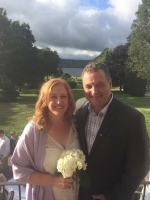 Conservative MP Lisa Raitt married Bruce Wood on Sept. 2 in Nova Scotia. (Twitter / Lisa Raitt)