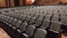 New seating at the Capitol Theatre in Windsor.