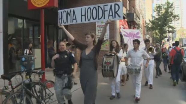Hoodfar rally