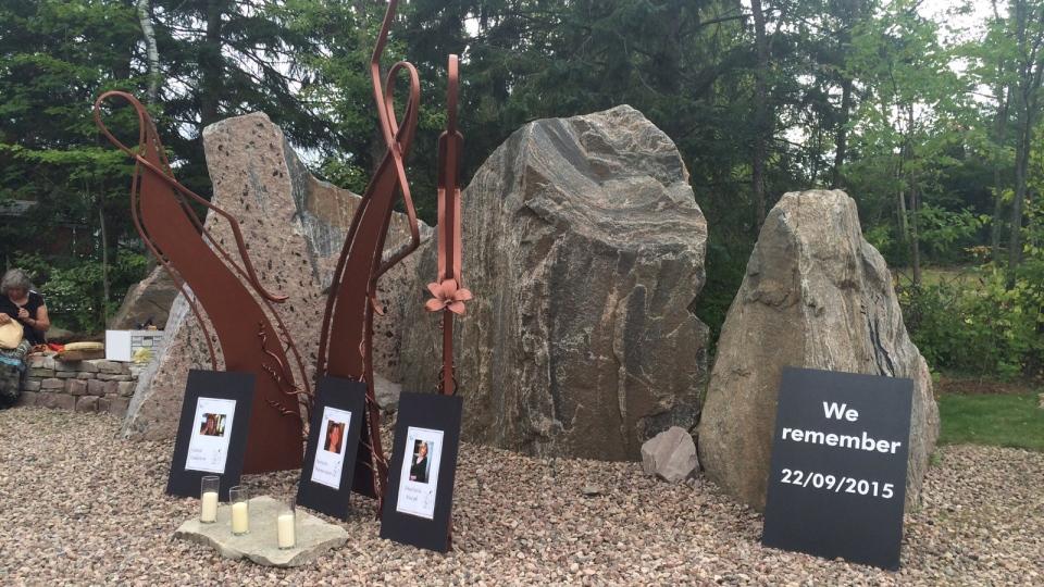 One year Wilno memorial