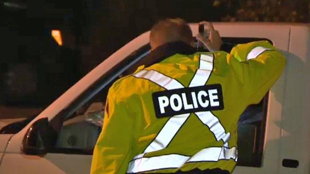 Police checkstop (File)