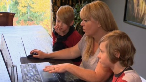 According to experts, talking to your children about the potential dangers online is one of the best ways to keep them safe.