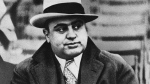 Chicago mobster Al Capone at a football game on Jan. 19, 1931. (AP)