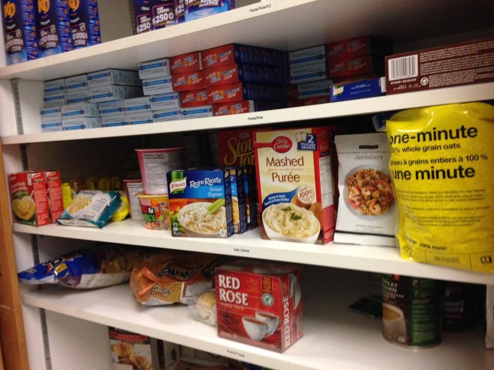 Barrie Food Bank Drop Off