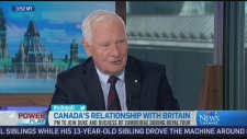 Governor General David Johnston says visits like t