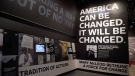 An exhibit featuring activism is on display at the National Museum of African American History and Culture in Washington, Wednesday, Sept. 14, 2016, during a press preview. (AP Photo/Susan Walsh)