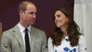 Britain's Kate, Duchess of Cambridge, right, and Prince William, Duke of Cambridge, listen to a speech during their visit to Keech Hospice Care in Luton, England, Wednesday, Aug. 24, 2016.(AP Photo/Eddie Keogh, Pool)