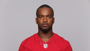 This is a 2015 photo of Mylan Hicks of the San Francisco 49ers NFL football team. The Calgary Stampeders say team member Mylan Hicks died after his ``life was taken in act of violence early on Sunday morning.'' (THE CANADIAN PRESS/AP)