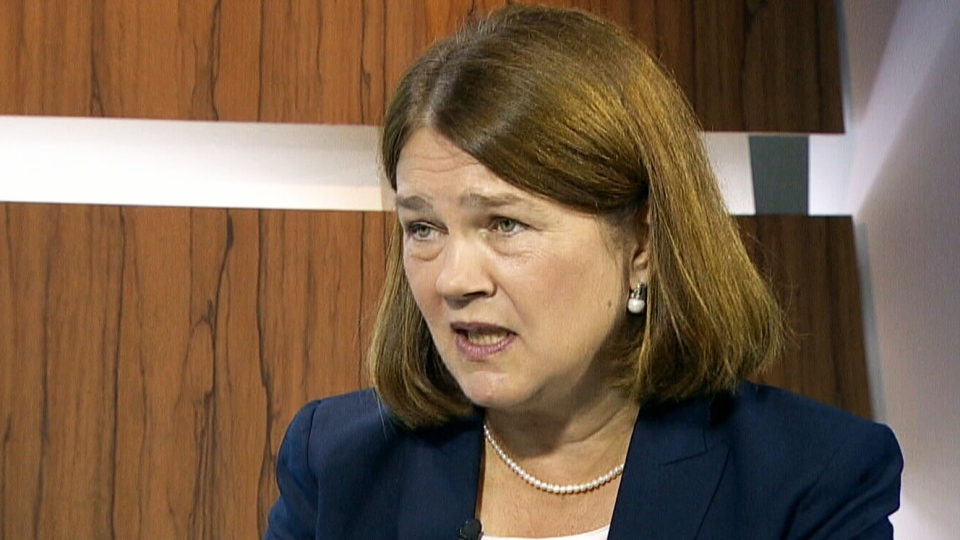Health Minister Jane Philpott speaks on CTV's Question Period.