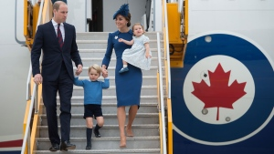 Duke and Duchess arrive in Canada