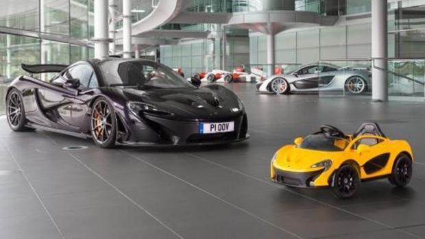 The latest McLaren P1 is pure electric. (McLaren Automotive)