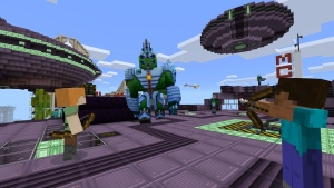 The Boss Update and Add-Ons are coming to Minecraft on October 18. (Courtesy Microsoft / Xbox Minecraft)