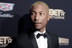 In this Feb. 21, 2016, file photo, Pharrell Williams attends the 2016 ABFF Awards: A Celebration of Hollywood in Beverly Hills, Calif. (Richard Shotwell / Invision)
