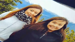 Ariunna Demberel and daughter Enky Ankhbayar were deported Monday morning back to Mongolia. (CTV Calgary)