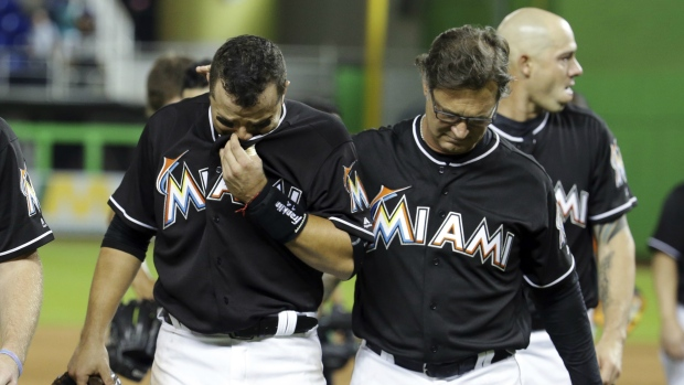 factory price fce67 15876 Owners approve sale of Miami Marlins to Derek Jeter's group ...