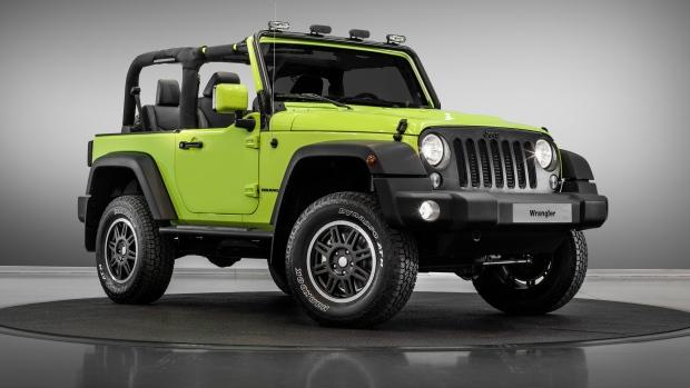 MoparONE Jeep Wrangler Rubicon © FCA