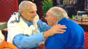 Brothers are reunited after almost a century