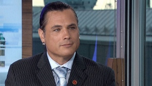 Senator Patrick Brazeau appears on CTV's Power Play in Ottawa, Tuesday Sept. 27, 2016.