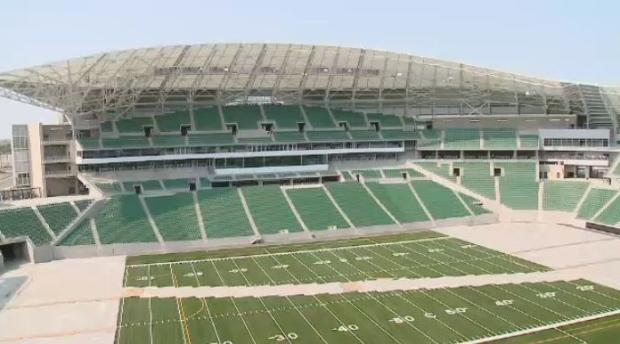 New Mosaic Stadium in Regina