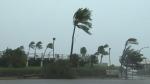 Typhoon hits Taiwan