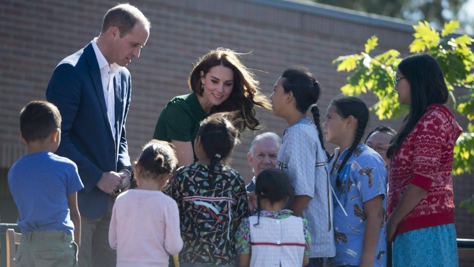 Duke and Duchess of Cambridge in Kelowna