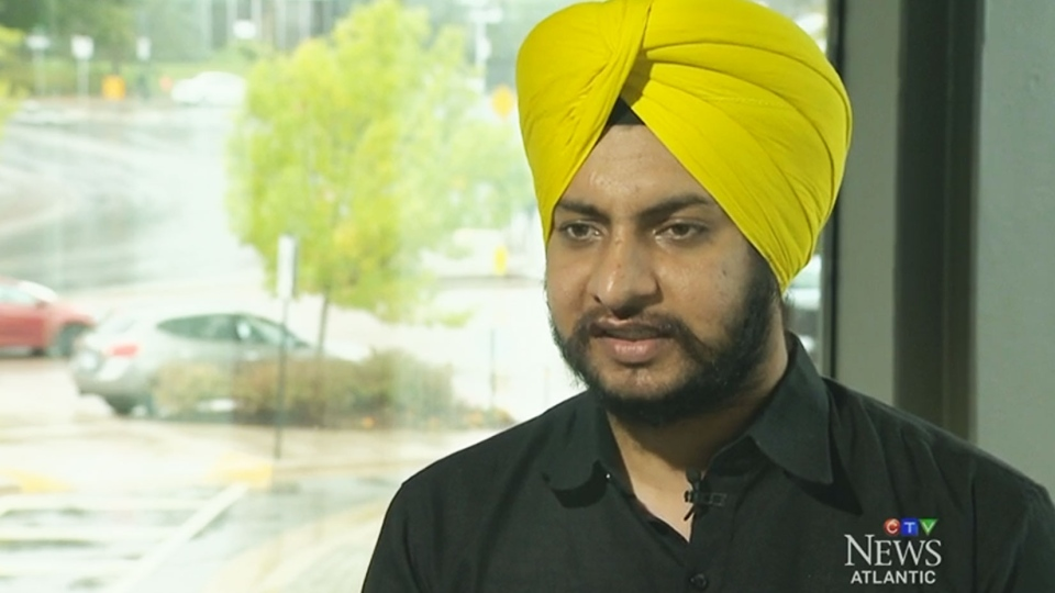 Hasmeet Singh said their dancing is helping to break down barriers and stereotypes they have experienced as Sikh men.