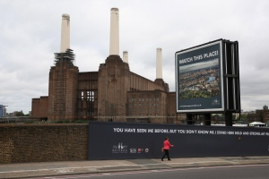 A view of Battersea Power Station in central London (AFP / Oli Scraff)