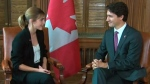 Extended: Emma Watson meets with PM Trudeau