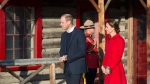 Prince William and his wife Kate, the Duke and Duchess of Cambridge tour the MacBride Museum of Yukon History in Whitehorse, Yukon, Wednesday, Sept. 28, 2016. (THE CANADIAN PRESS/Jonathan Hayward)