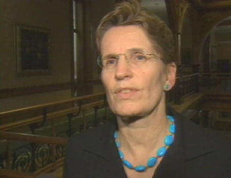 Ontario's Education Minister Kathleen Wynne said on Tuesday, Feb. 10, 2009 that she wants to avoid a labour disruption if possible.