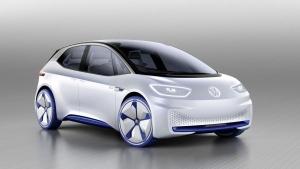 Volkswagen's 2016 Paris Motor Show show car - the I.D. (Volkswagen)