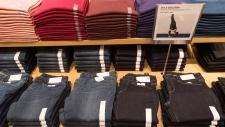 Uniqlo retail clothing store in Toronto