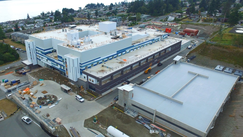 The North Island Hospital Campbell River. (CTV News)