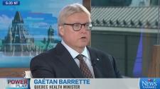 Dr Gaétan Barrette weighs in on what's missing in